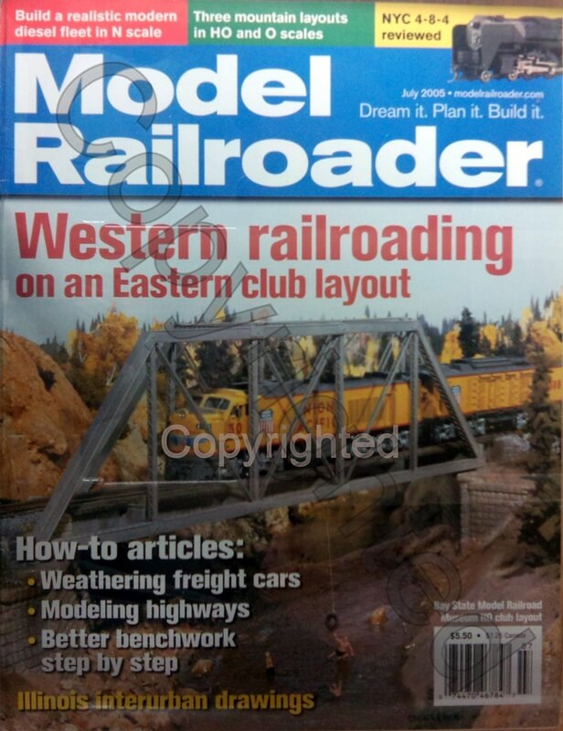 Model Railroader 2005 July