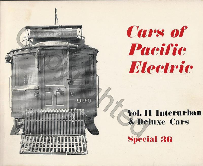 Cars of the Pacific Electric V2