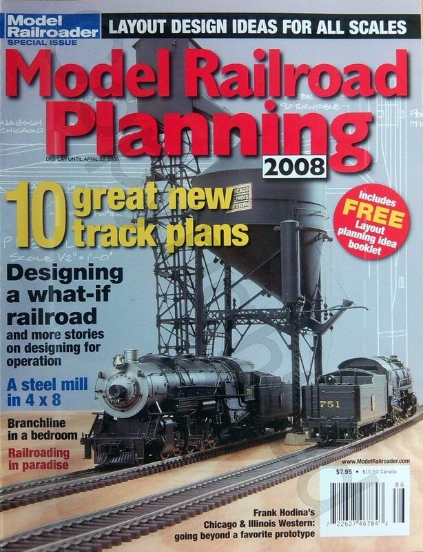 Model Railroad Planning 2008