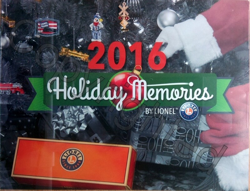 Lionel Catalog 2016 Holiday Memories