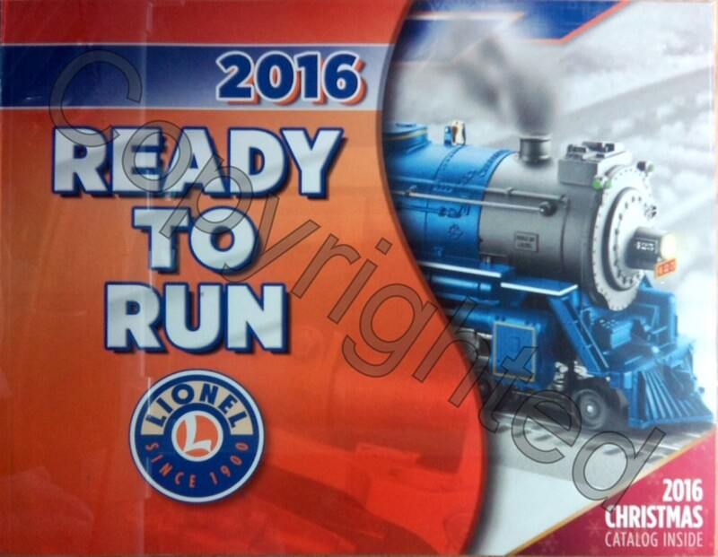 Lionel catalog 2016 Ready to Run