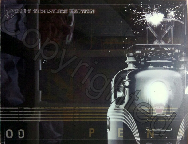Lionel Catalog 2016 Signature Edition