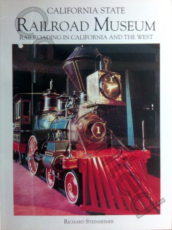 California State Railroad Museum Pamphlet