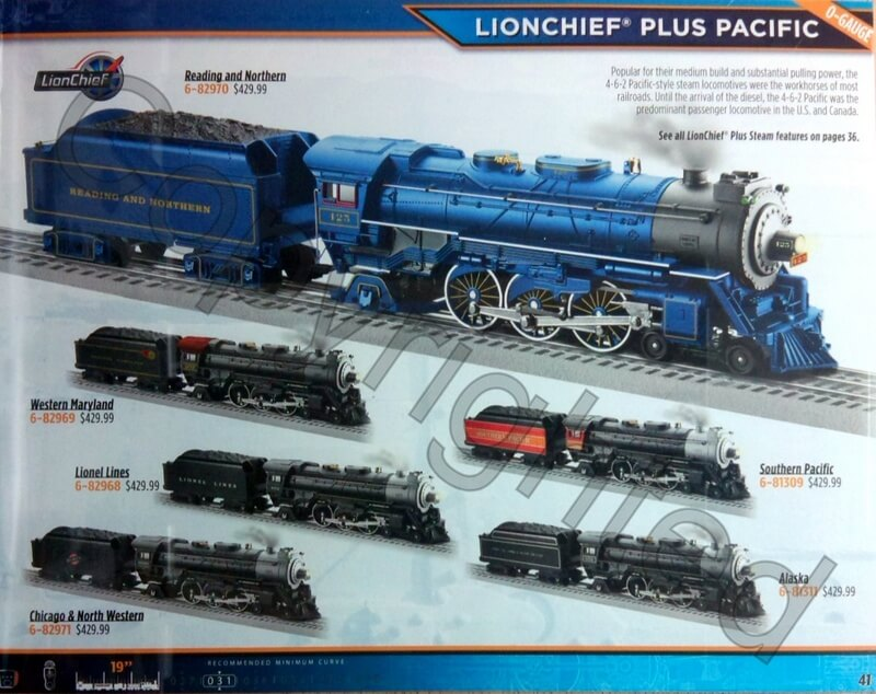 Lionel Trains Catalog : Lionel catalog ready to run on the rail books