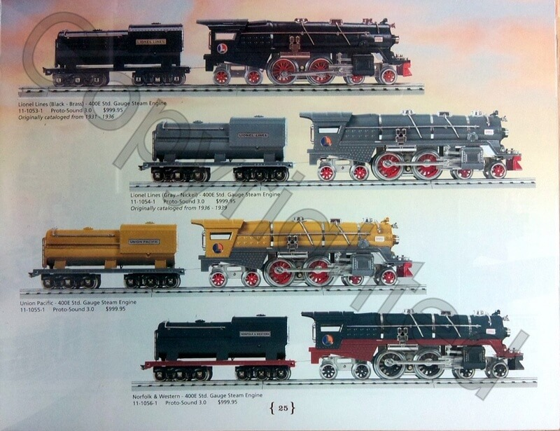 Lionel Catalog 2016 Tinplate