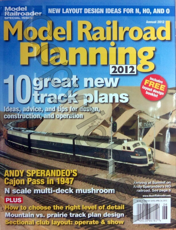 Model Railroad Planning 2012