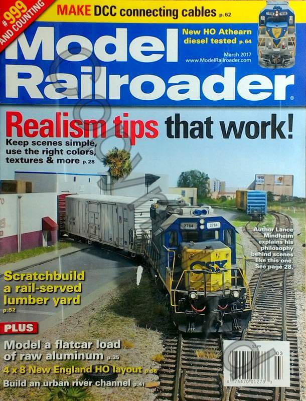 Model Railroader 2017 March